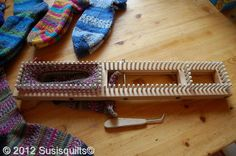 dear friends,i bought me another interesting knitting loom.it is the all in one knitting loom from  www.knittingboard.com  ,and i...