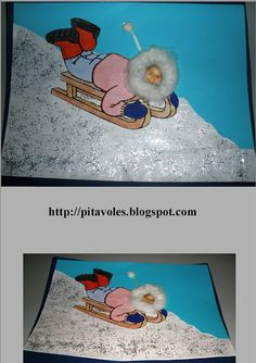 Tapa àlbum de Nadal amb foto del alumne per guardar totes les feines del primer trimestre. Winter Art Projects, Winter Crafts For Kids, Winter Kids, Winter Sports, Art For Kids, Snow Theme, Winter Theme, Tapas, Winter Activities