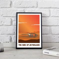Star Wars The Rise of Skywalker art print poster wall art decor Gift poster