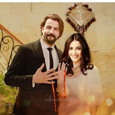 Beautiful Love Images, Beautiful Couple, Happy New Year Images, Happy Birthday Candles, Funny Clips, Turkish Actors, Couple Photos, Unique, Fictional Characters