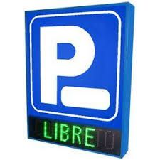 Grupo Empresarial PLAZALED - ROTULO LED ELECTRONICO PARKING - PLAZALED rótulos led electrónicos, pantallas led electrónicas