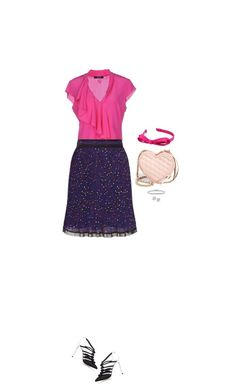 """""""Never ruffled"""" by blueeyed-dreamer ❤ liked on Polyvore featuring Olgana, GUESS by Marciano, Carven, Rebecca Minkoff, L. Erickson and BERRICLE"""