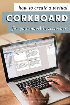 How to Streamline Your Writing With The Scrivener Inspector How to Create a Virtual Corkboard for Your Novel in Scrivener Easy Writing, Writing Goals, Writing Advice, Writing Resources, Creative Writing, Writing A Book, Writing Ideas, Writing Binder, Novel Writing Software