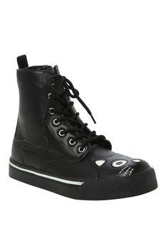 T.U.K. Black Kitty Sneaker Boot   Hot Topic