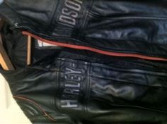 Original Harley Davidson ladies leather jacket size XL size 14-16, very good condition only worn 3 times and paid $700 just before Xmas .. Happy to post a buyers cost. Mill Park Victoria. Mbl 0414509061