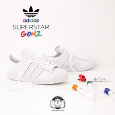 #adidasoriginals #adidas #superstar #gonzo #sneakerbaas #baasbovenbaas  Adidas Superstar Gonzo - Shop now!  For more info about your order please send an e-mail to webshop #sneakerbaas.com!