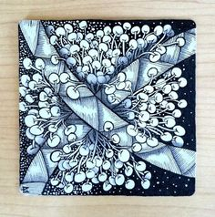That Challenging Tangle – Zentangle