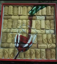 Speelgoedpop the bottles of wine, but reduce the corks to construct majority of these fun grape cork handicrafts. Wine Cork Projects, Cute Diy Projects, Arts And Crafts Projects, Diy Home Crafts, Beer Crafts, Wine Cork Crafts, Wine Bottle Crafts, Wine Cork Art, Wine Corks