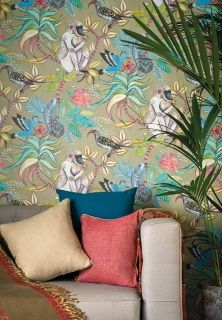by Cole & Son  SAMPLE   Free Shipping on all samples  'Savuti' comes as a larger 18 in x 13 in sample