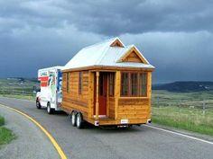 130 sq ft log cabin camper