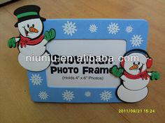 Christmas EVA foam funny photo frames and picture frames $0.45~$1