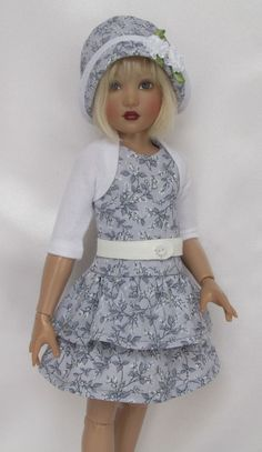 """SHEA'S GRAY DAY OUTFIT! FOR 14"""" KISH CHRYSALIS.MADE BY SSDESIGNS  . 2/14/15 BIN for $43.99. Sold"""