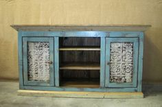 cottage style tv console - Google Search