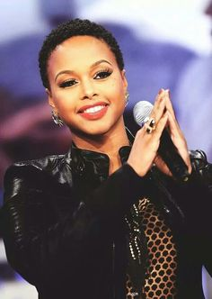 Everythings so flawless. Chrisette Michele | Hairspiration | Rich Hipster | Fat Vegan | Beautiful | TWA | TWA Hairstyle | Transition