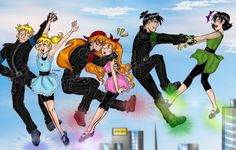 PPG and RRB by Soraya7 on deviantART
