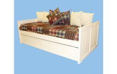 cama diván 1 plaza - laqueada blanca - imperdible!!!!!!!!