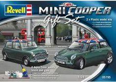 "Gift-Set ""Mini Cooper Set"" - Revell art. 5795 scala 1:24"
