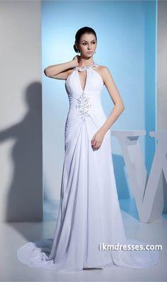 http://www.ikmdresses.com/Church-Sheath-Column-Spaghetti-Straps-Brush-Sweep-Train-Wedding-Dress-p20540