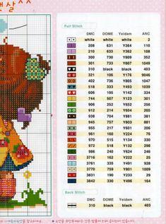 GRAFICOS SODA COREA ,,, SUPER LINDOS (pág. 30) | Aprender manualidades es facilisimo.com