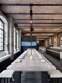 Sage Restaurant, coole Location in Kreuzberg an der Spree mit Beach