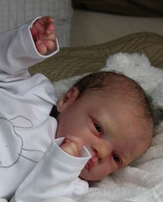 EVON NATHER *HBN* Reborn baby doll Prototype SKYE by MARITA WINTERS