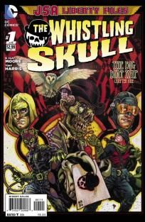 JSA Liberty Files - The Whistling Skull #1 B. Clay Moore Tony Harris ---> shipping is $0.01 !!!