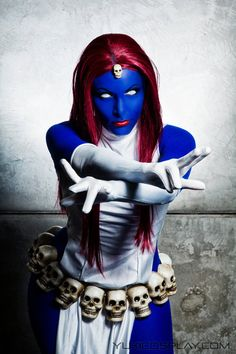 Me as Mystique / Raven Darkholme, from X-men.Photo by Lívia Berlim. At Comic Con Experience. Please visit my fanpage Yukicosplay.com