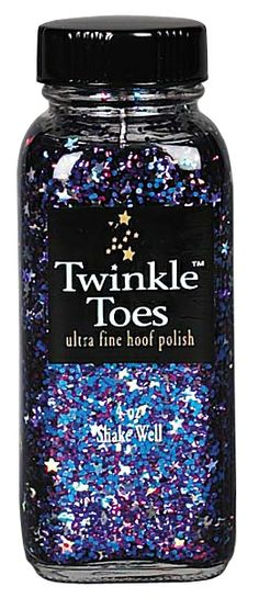 Rainbow Stars Tinkle Toes Glitter Hoof Polish! One day I am going to have a little girl and her pony is going to have pink/glitter/adorable EVERYTHING.