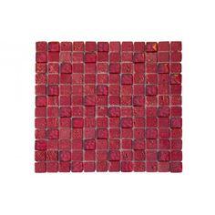 Petra Red Mosaico 30,5x30,5 531 Petra, 30th, Tiles, Red, Mosaics, Room Tiles, Tile, Backsplash