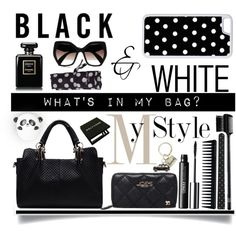 What's in My Bag?.. by vkevans on Polyvore featuring polyvore, beauty, Clinique, Make, Chanel, GHD, H&M, CellPowerCases, Prada and Harrods