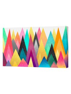 Dreamy Peaks 1 by Elisabeth Fredriksson (Canvas) from Art Curated by Curioos on Gilt