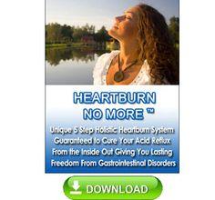 reflux acid , heartburn no more !