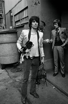 Legendary Rolling Stones guitarist and rock legend Keith Richard is featured in a new selection of unseen images to mark the band's 50th anniversary.