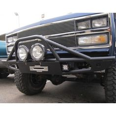 Chassis Unlimited FRONT WINCH BUMPER FITS CHEVY/GMC K5 BLAZER & TRUCKS 1973-1991