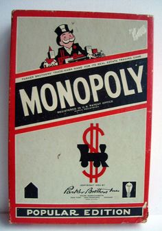Monopoly was produced by Parker Brothers at their Salem, MA factory.