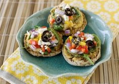 Greek Style English Muffin Pizzas | Van's Natural Foods
