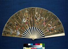 Fan | V   Made in Burma about 1870-1880