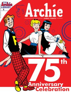 """Read """"Archie Anniversary Digest by Archie Superstars available from Rakuten Kobo. Celebrate Archie's anniversary in a special way with this commemorative digest! Jughead Comics, Archie Betty And Veronica, Archie Comics Characters, Archie Comics Riverdale, Best Comic Books, Teen Humor, Comic Book Covers, Comic Character, Funny Comics"""