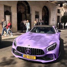 Uploaded by Kseniya. Find images and videos about luxury, purple and car on We Heart It - the app to get lost in what you love. New Luxury Cars, Luxury Sports Cars, Sport Cars, Fancy Cars, Cool Cars, Bmw Autos, Lux Cars, Illustration Mode, Pretty Cars