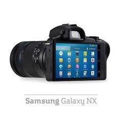Samsung anunció la primera cámara de lente intercambiable que funciona con Android, con un lente de 20.3 MP y especialmente diseñada para aficionados a la fotografía.