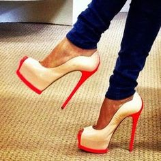 #<3  High Heels #2dayslook #High #Heels #fashion #nice #new   www.2dayslook.com