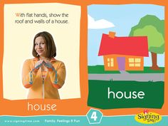 Learn Sign Language » Sign of the Week – House