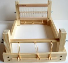 Looking for weaving project inspiration? Check out Weaving loom - rigid heddle by member Planengrain.