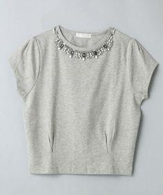 ビジュー  Tシャツ - Google 検索
