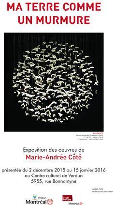 Montage au Centre culture de Verdun                                    Je remercie la directrice du Centre culturel de Verd...