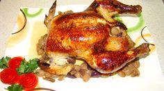 Отличное блюдо которое украсит ваш праздничный стол. Вкусная сочная курица с виноградом и замечательной зажаренной корочкой. Советую приготовить по этому рец...