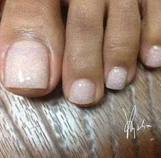 Tammy Taylor colored acrylic  #acrylicnails #toes