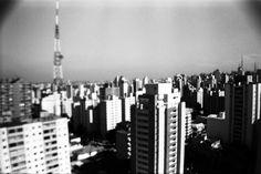 São Paulo, black and white photography