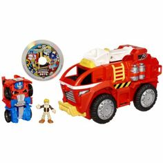 Transformers Rescue Bots Playskool Heroes Electronic Rescue Bots Mobile Headquarters Playset