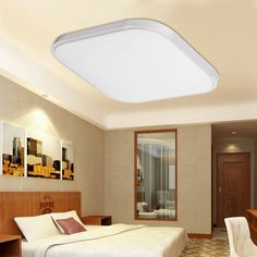 15/20/28/56W Modern Square LED Ceiling Light Daily lighting bedroom Ceiling Lamp